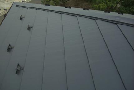 軽量化した屋根