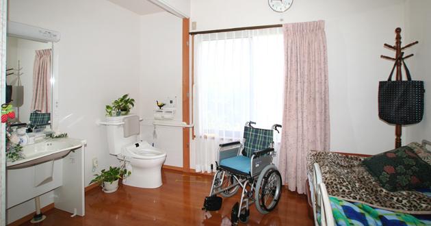車椅子でも暮らしやすいお部屋