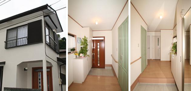 特選施工例埼玉県入間市Bさま邸玄関