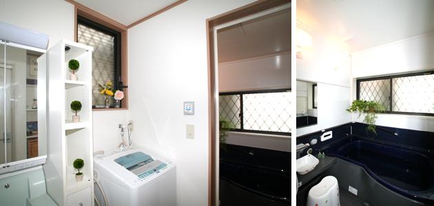 埼玉県入間市Bさま邸洗面所・風呂