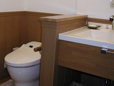 埼玉県入間市Eさま邸のトイレ