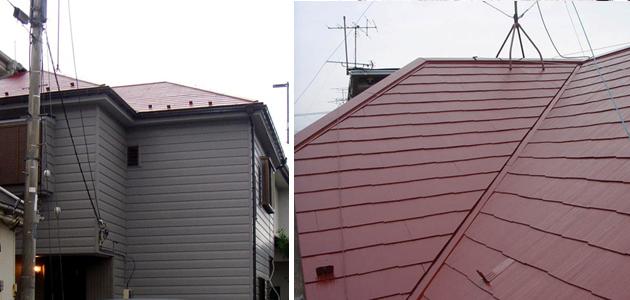リフォーム後の屋根